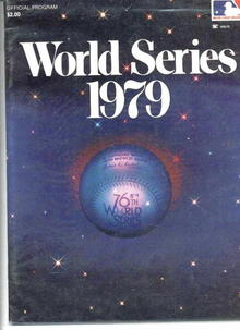 1979 World Series Official Program