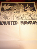 HAUNTED MANSION MOVIE POSTER