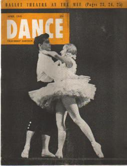Dance April 1945 Stravinsky Interview
