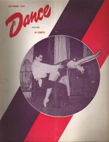 Dance Magazine 10/1949 Roland Petit; Rambert