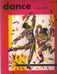 Dance Magazine 1/1952 Catherine Littlefield