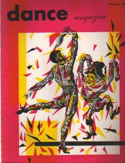 Dance Magazine 1/1952 Catherine Littlefield