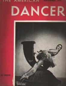 American Dancer 9/1941 MarieJeanne; Rameau