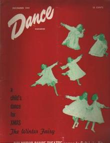 Dance Mag 12/1949 Jose Limon