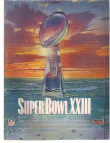 Super Bowl 23 Bengals vs 49ers 1989