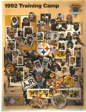 1992 Training Camp Pittsburgh Steelers EX