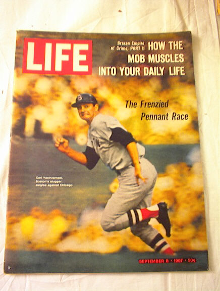 SEPT 8,1967 LIFE CARL YASTZEMSKI COVER