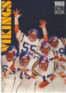1988 Fact Book Vikings Doleman Millard Martin