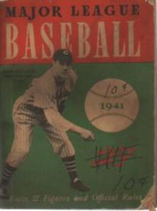 1941 Major League Baseball Bob Feller Chicago