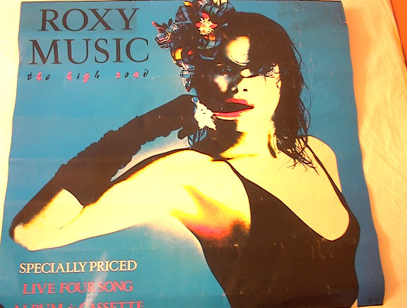ROXY MUSIC THE HIGH ROAD 1983 ALBUM POSTER