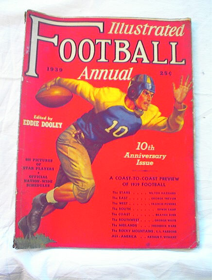 ILLUSTRATED FOOTBALL 1939 ANNUAL