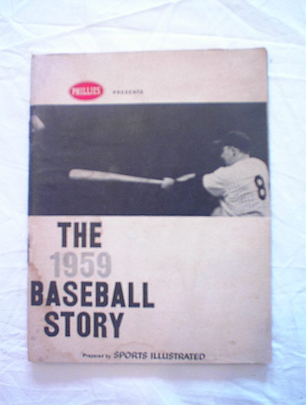 THE 1959 BASEBALL STORY BY SPOTS ILLUSTRATED