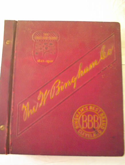 1950 BINGHAM'S BEST BRAND DISTRIBUTER CATALOG