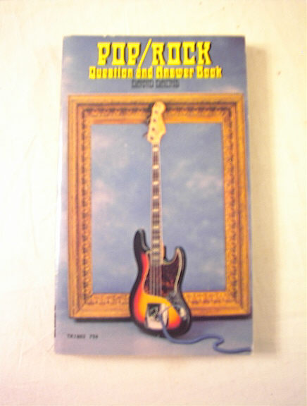 POP/ROCK QUESTIONS AND ANSWER BOOK DAVID DACH