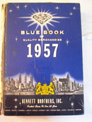 Blue Book of Merchandise 1957 toys,dolls.bike