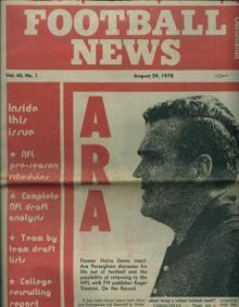 Football News, 8/29/78