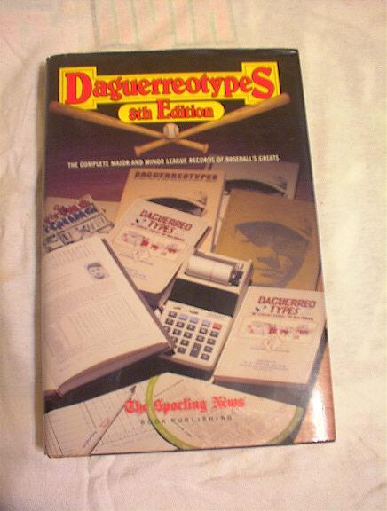Daguerreotypes 8th Edition 1990