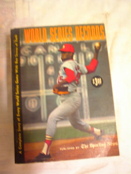 World Series Records 1903 to 1967 Bob Gibson