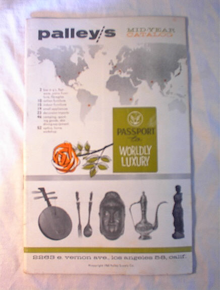 Palley/s 1960Mid-Year Catalog of World Luxury