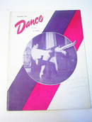 Dance Magazine,11/49,Ballets De Paris cover