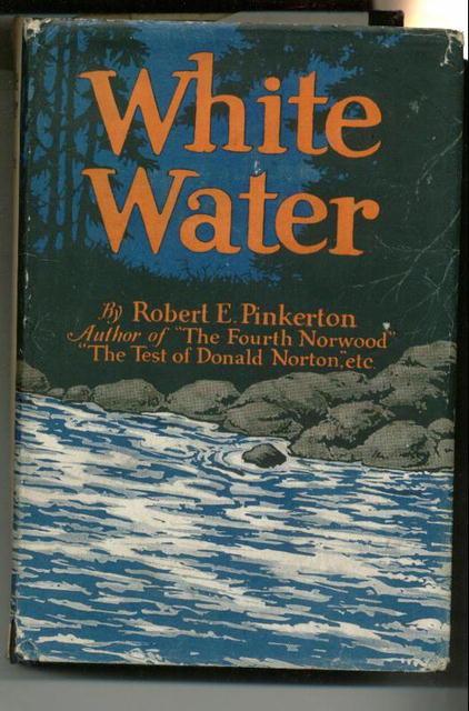 1925 Novel WHITE WATER w/dust jacket!