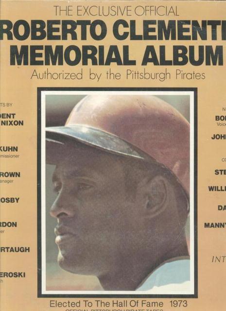 ROBERTO CLEMENTE Memorial Record Album WOW!