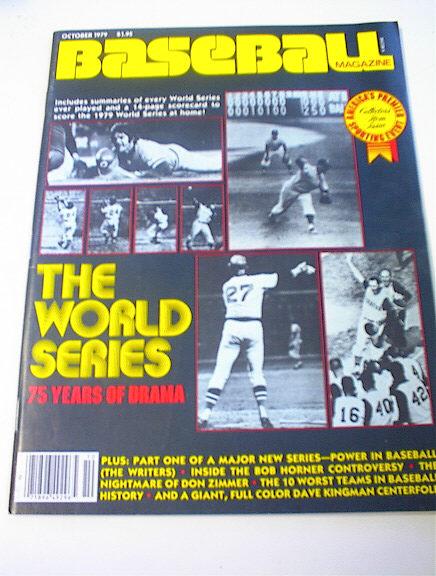 Baseball Magazine,10/79,The World Series 75yr