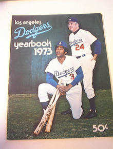 Los Angeles Dogers 1975 yearbook
