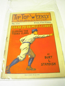 Tip TOp Weekly,Frank Merriwell's Curves,1900