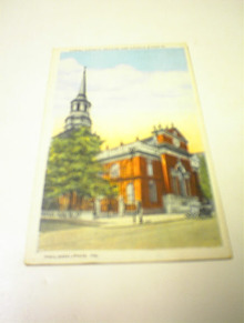 1921 Christ Church,Second and Church Streets