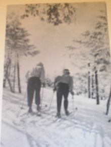1960 Skiing in Pocono Mountains,PA