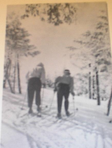 1960 Skiing in Pocono Mountains,PA