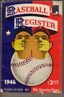 Sporting News Baseball Register 1946 /O'Neill
