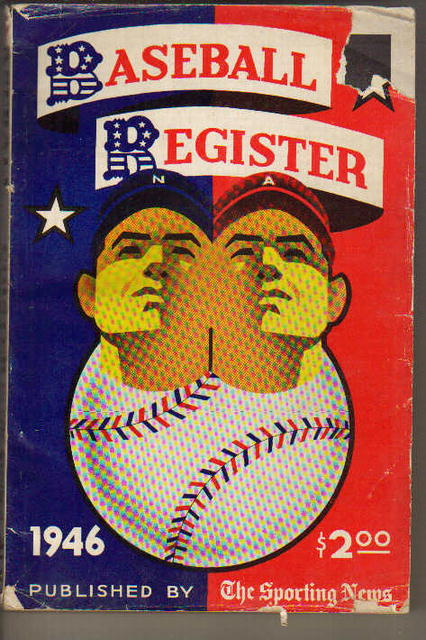 Sporting News Baseball Register 1946 /O'Neill