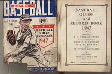 TSN Official Baseball Guide 1947