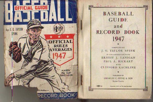 TSN Official Baseball Guide 1947