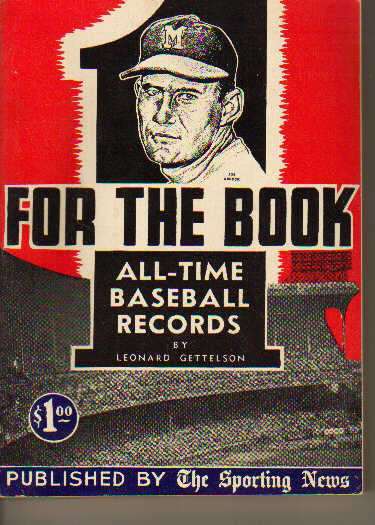 TSN/For The Book/All-Time Baseball Records'55