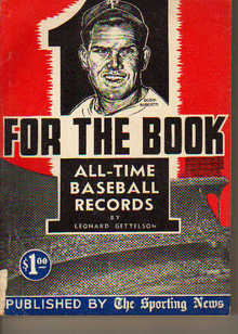 TSN/For The Book/All-Time Baseball Records'56
