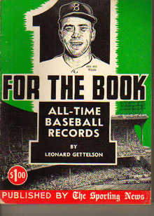 TSN/For The Book/All-Time Baseball Records'57
