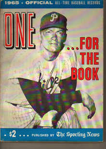 TSN/For The Book/All-Time Baseball Records'65