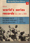 TSN/Official World's Series Records 1903-1955