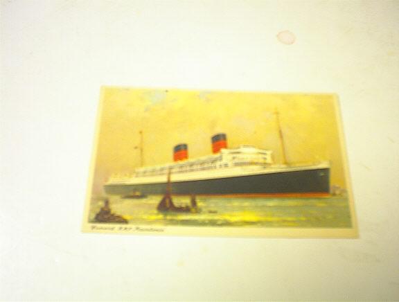 1950's Cunard R.M.P.