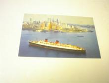 1950's Cunard R.M.S. Queen Elizabeth S.S.