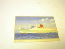 1950's Cunard R.M.P. Caronia Steam Ship