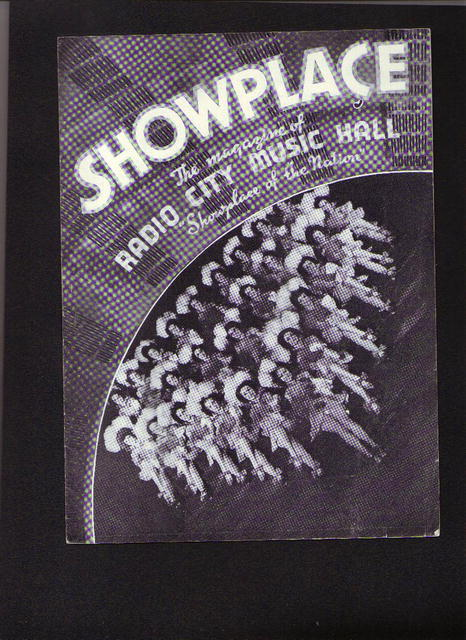 1938, Showplace-Radio City Hall program