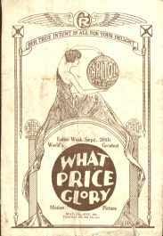What Price Glory & Our Gang Comedy 1927
