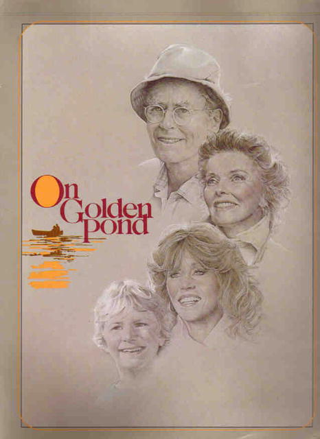 On Golden Pond Katherine Hepburn Henry Fonda