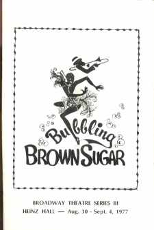 Bubbling Brown Sugar 1977 Richard Brown