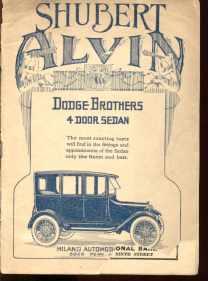 39 East program Shubert Alvin 2/9/1920 in Pgh