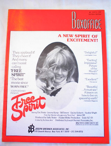 6/4/1979 ISSUE OF BOXOFFICE FREE SPIRIT COVER